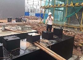 地埋式一體化污水治理案例
